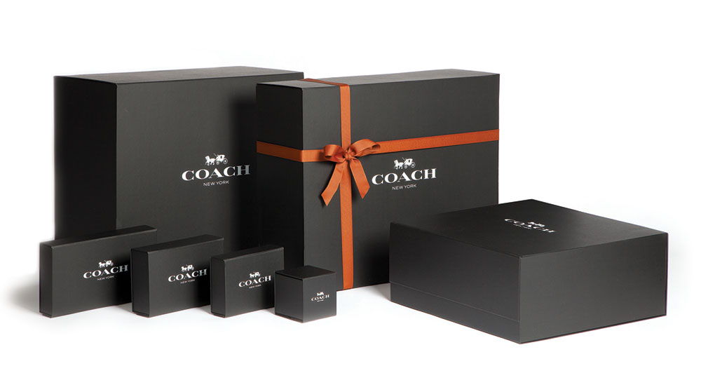 Coach gift packaging negle Images